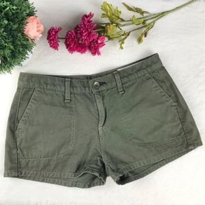 rag & bone Women Chino Olive Green Casual Short 25